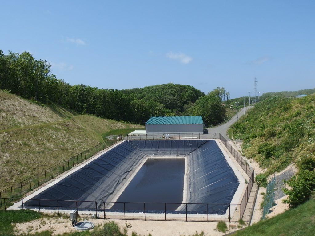 水処理施設全景